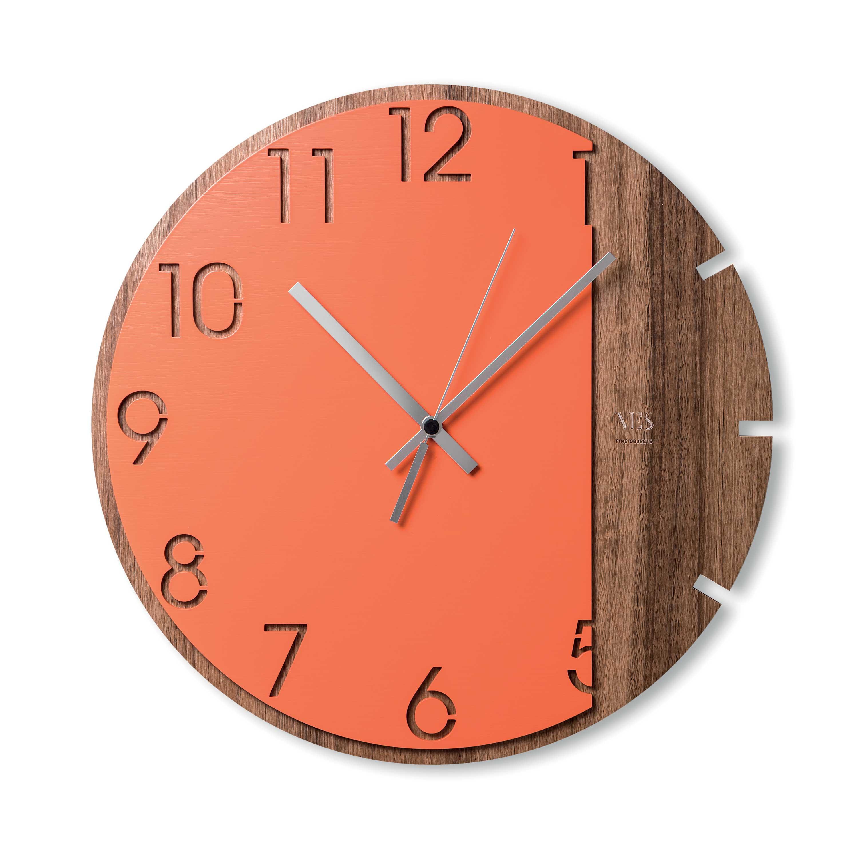 Ves Design Orologio da parete in legno dal design moderno ...