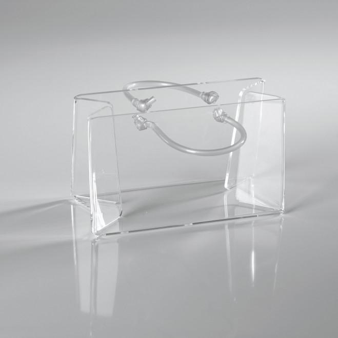 Portaposta da tavolo in plexiglass