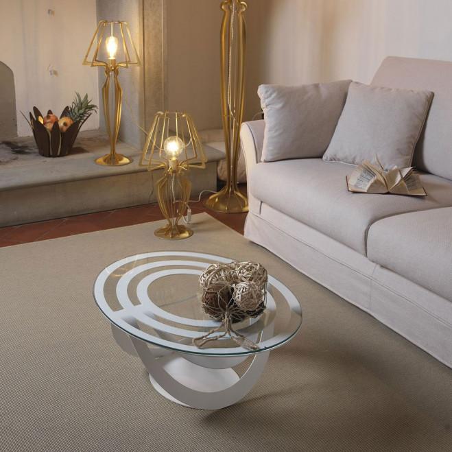 Tavolino ovale
