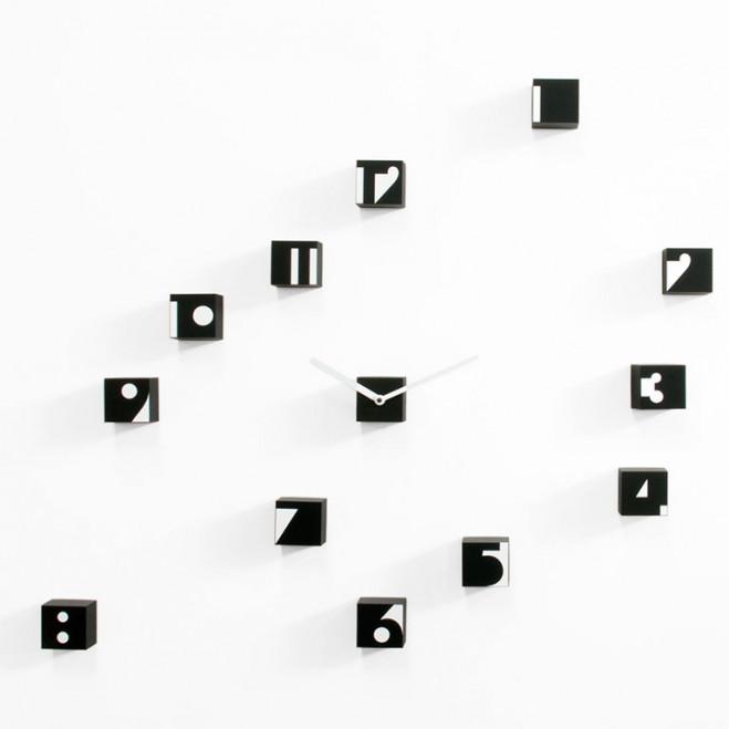 Orologio da parete moderno componibile Optical