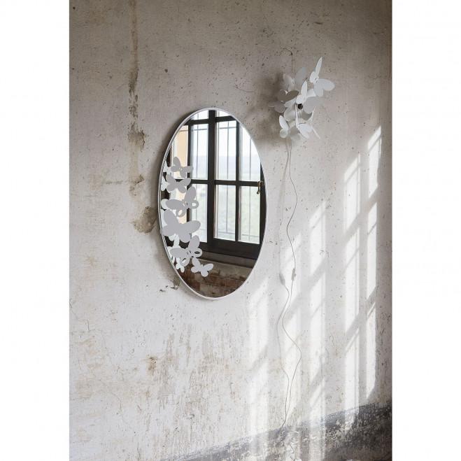 Specchio da parete ovale