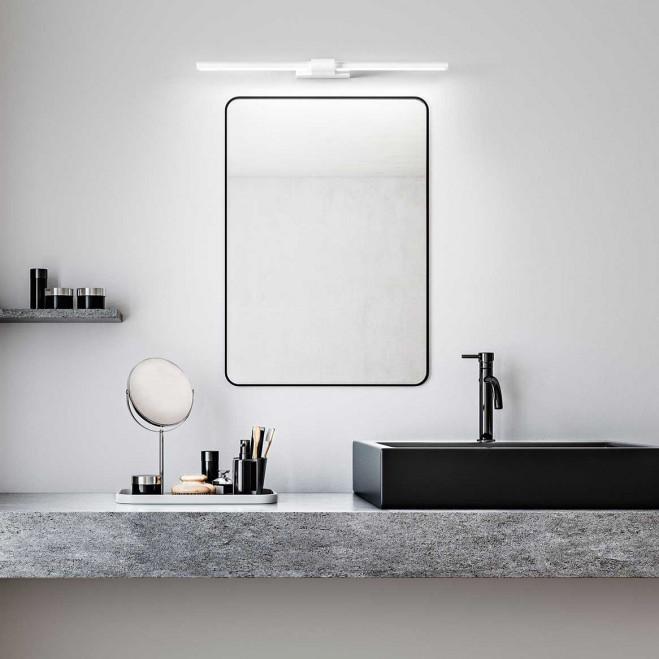 """Applique da parete a LED in stile moderno orientabile in metallo """"Line"""" grande"""