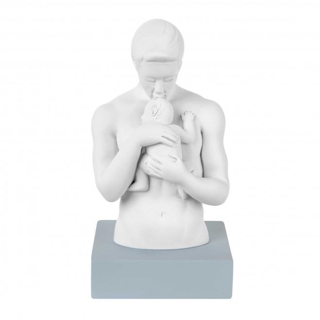 Statuina da tavolo Abbraccio di Papà