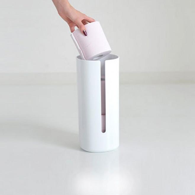 Contenitore per rotoli di carta igienica