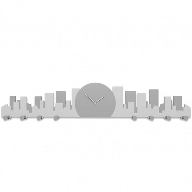 Orologio da parete con appendiabiti