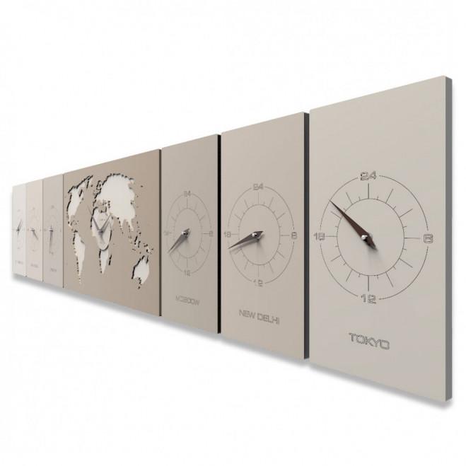 Orologio da parete orizzontale