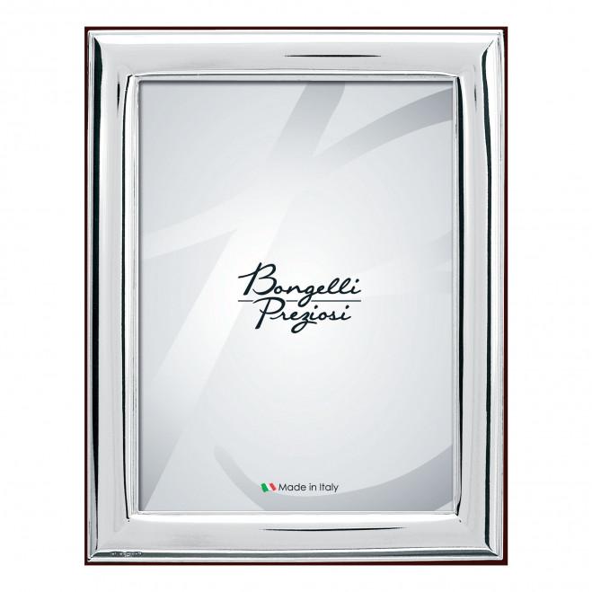 Portafotografie in argento da tavolo classico liscio