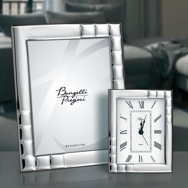 Portafoto in stile classico in argento
