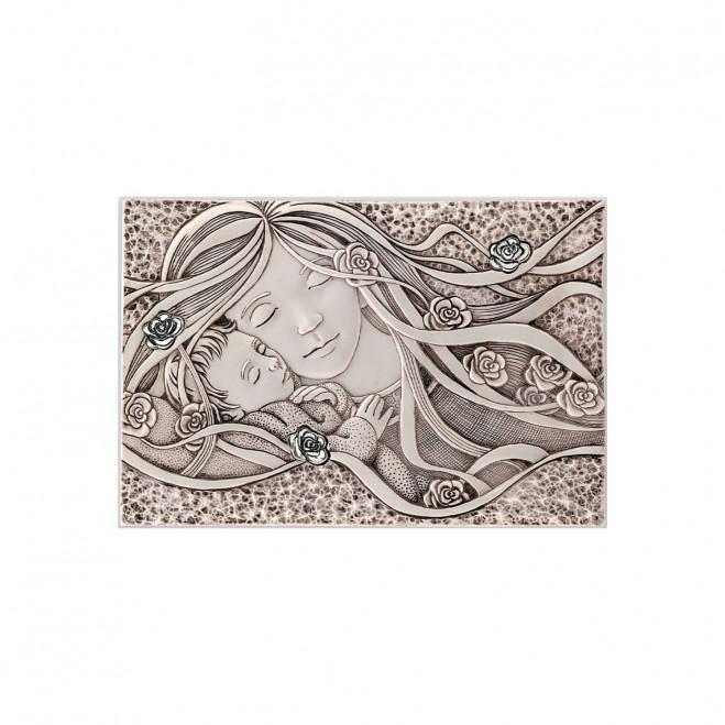 Capezzale con Maternità in stile Classico 30x20