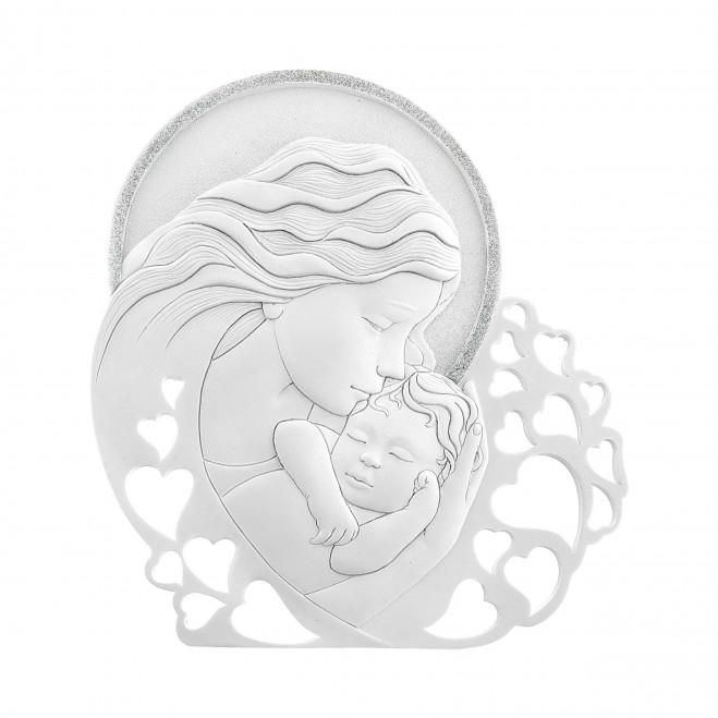 Capezzale classico con Maternità 24x22