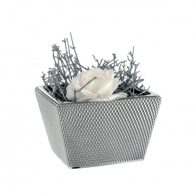 Centrotavola contemporaneo in argento