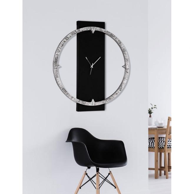 Orologio da parete in legno moderno Anello Lucente