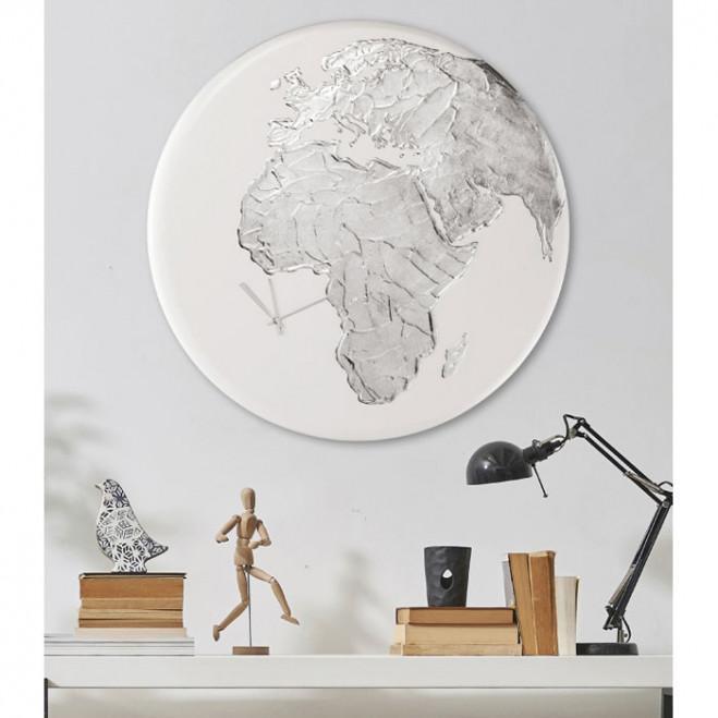 Orologio da parete moderno in legno Globe Clock