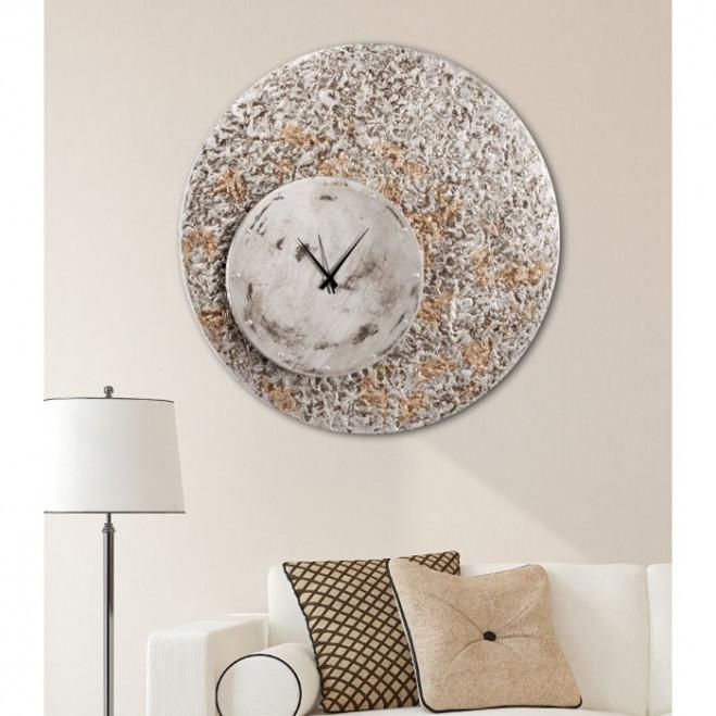 Orologio da parete in legno moderno Eccentrico