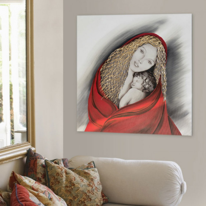 Capezzale Madonna - 90x90