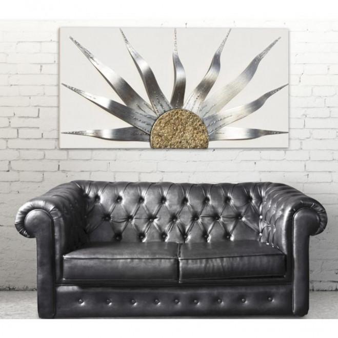 Pannello Solar Storm Argento 160x80