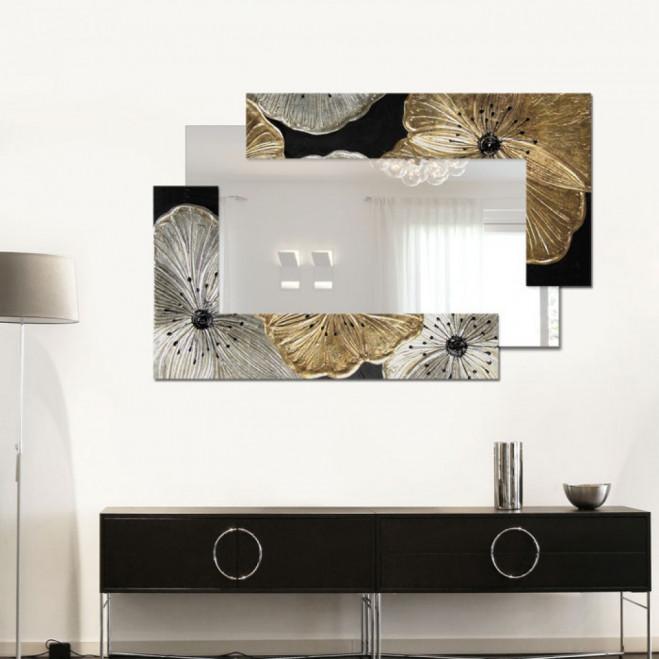 Specchiera 120x80 Petunia Scomposta Piccola