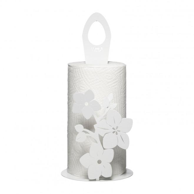 Porta rotoli da tavola con decorazioni floreali