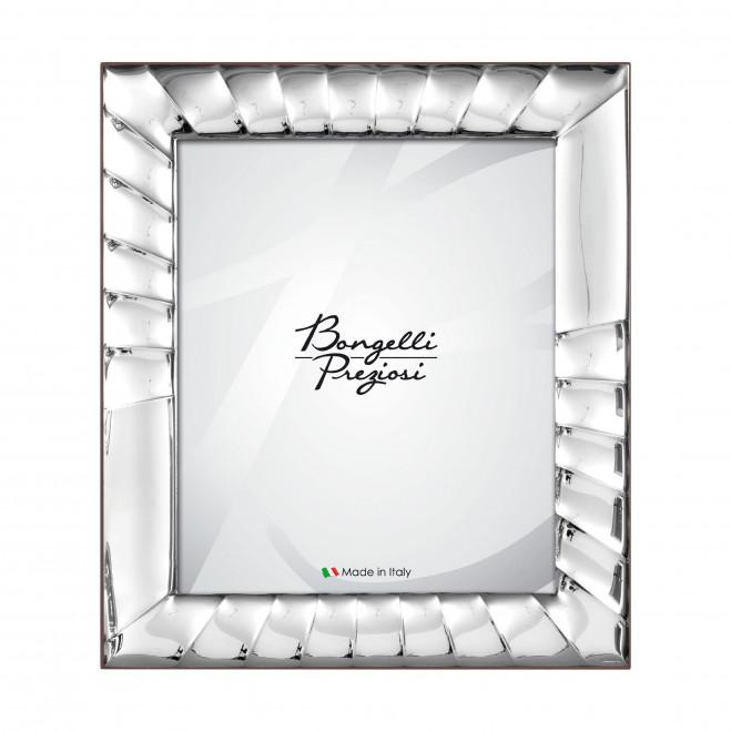 Portafotografie in argento in stile classico Raggi
