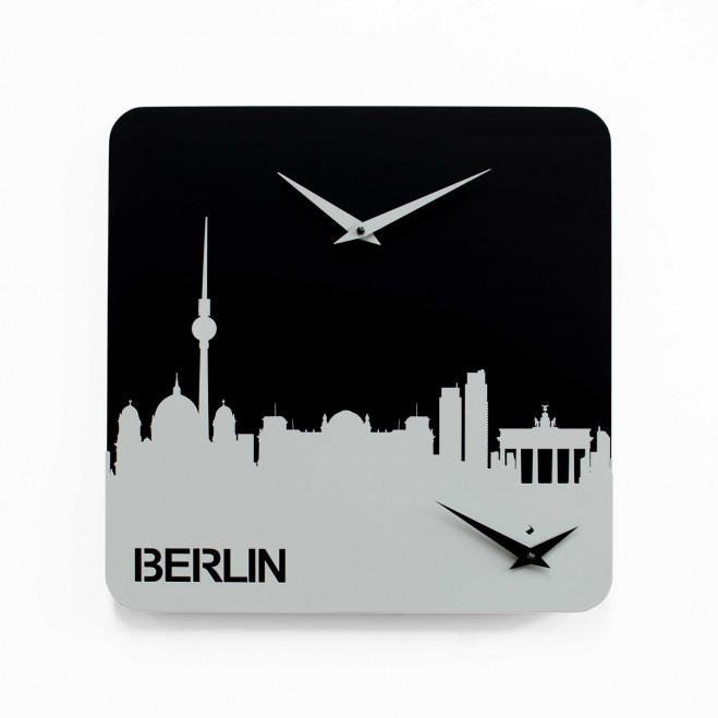 Orologio da parete con doppio quadrante Berlino