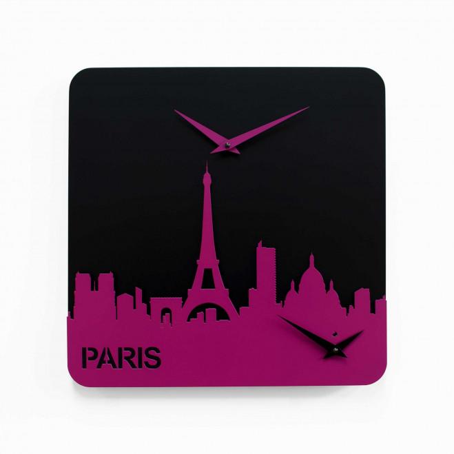 Orologio da parete con doppio quadrante Parigi