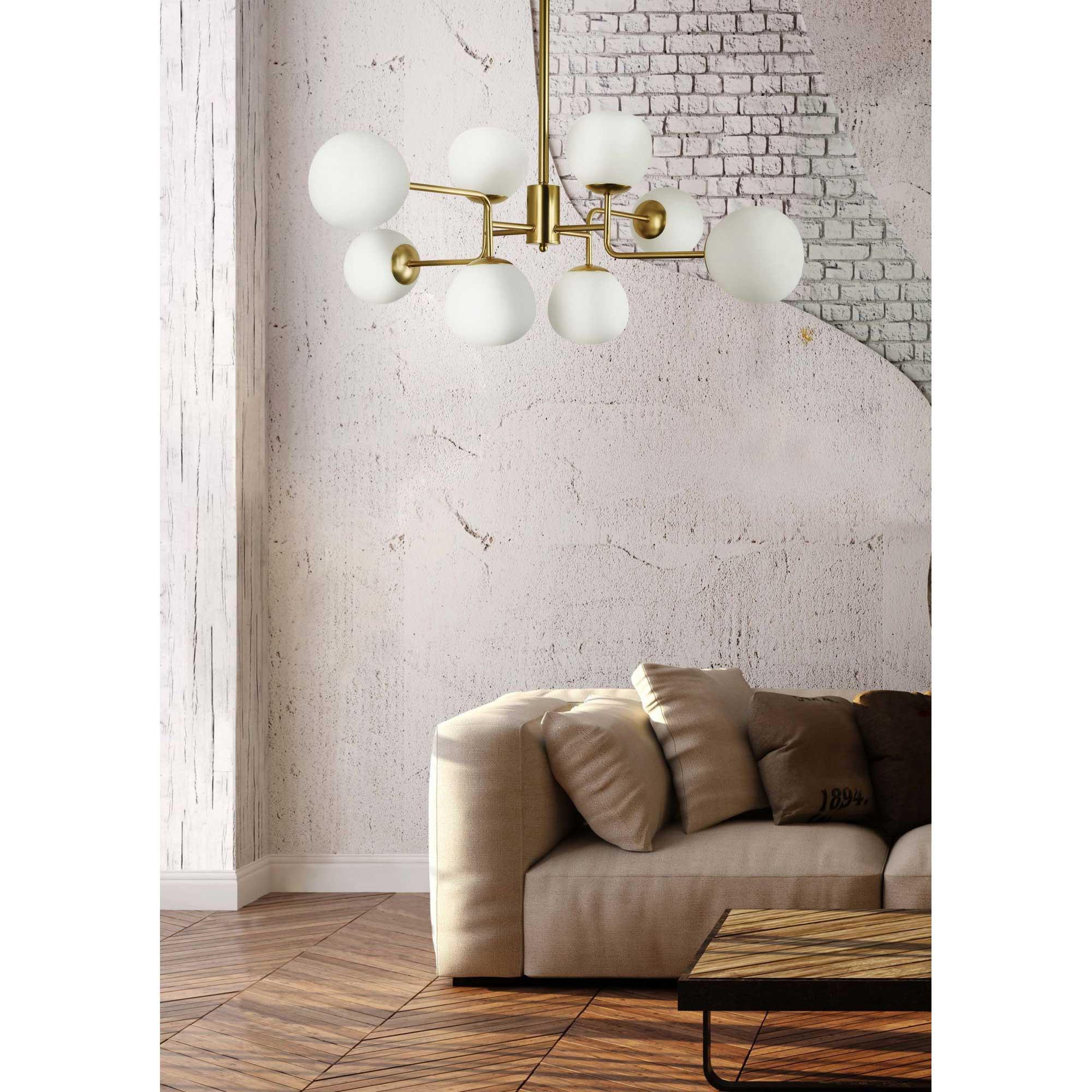 Lampadari Con Bottiglie Di Vetro maytoni lampadario moderno con diffusori in vetro e struttura in metallo  erich - 40w