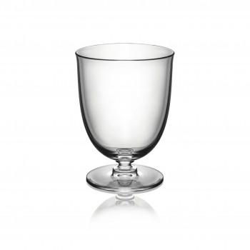 Alessi Set 4 bicchieri in resina termoplastica dalle linee moderne Dressed Air Trasparente    MW73/41