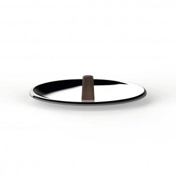 """Alessi Coperchio in acciaio inossidabile diametro 14"""" Edo Acciaio    PU200/14"""