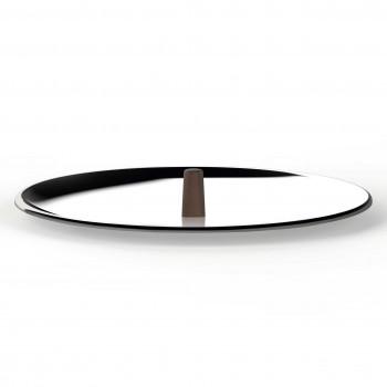 """Alessi Coperchio in acciaio inossidabile diametro 28"""" Edo Acciaio    PU200/28"""