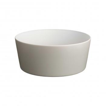 Alessi Insalatiera in ceramica stoneware dalle linee moderne Tonale Grigio Chiaro    DC03/38LG