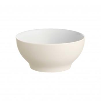Alessi Set 4 pezzi ciotole rotonde piccole in ceramica stoneware Tonale Grigio Chiaro    DC03/54LG