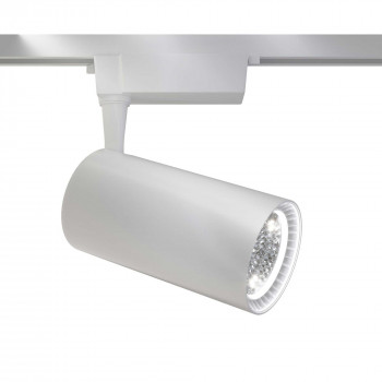 Maytoni Faretto a LED moderno in alluminio per sistema a binario Sistema Binario  Lumen 3200 3000k Luce Calda  TR003-1-40W3K
