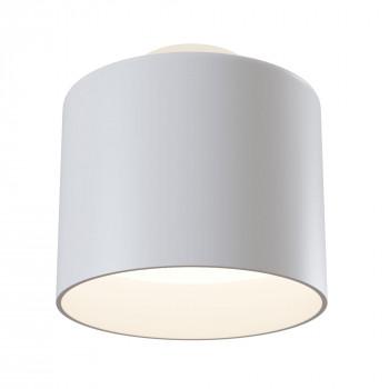 Maytoni Lampada da soffitto moderna con 2 sorgenti luminose struttura in alluminio Planet  Lumen 500 3000k Luce Calda  C009CW-L12