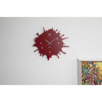 Vesta Orologio da parete grande in plexiglas dalle linee moderne Skizzo     07702