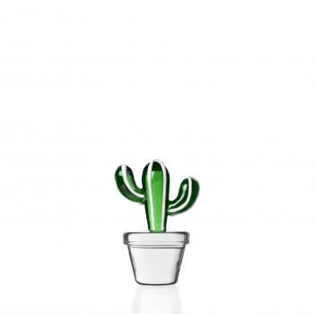 Ichendorf Fermacarte cactus in vetro Desert Plant Verde    09352112