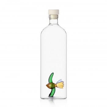 Ichendorf Bottiglia in vetro con decorazione all'interno con pesce e alga Animal Farm Trasparente    09352153