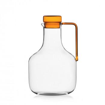Ichendorf Brocca in vetro con tappo Liberta Ambra    09352286