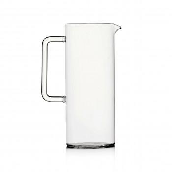 Ichendorf Brocca con manico in vetro Tube Trasparente    09359540