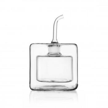 Ichendorf Oliera quadrata in vetro 170ml Cube Trasparente    09370032