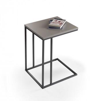 Pezzani Tavolino da salotto piccolo in legno di design italiano Lamina