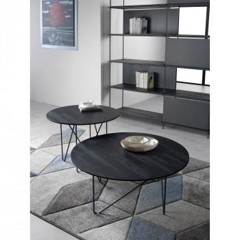 Pezzani Tavolino da salotto con struttura in acciaio verniciato sablè Shape     0/231.L