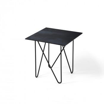 Pezzani Tavolino da soggiorno con struttura in acciaio e piano in laminato Shape     0/232.L
