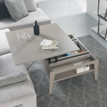 Pezzani Tavolino da salotto moderno piccolo con contenitore Brighton     0/265
