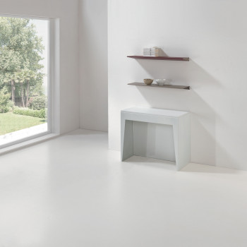 Pezzani Consolle per ingresso moderna piccola allungabile con 4 sezioni Marvel