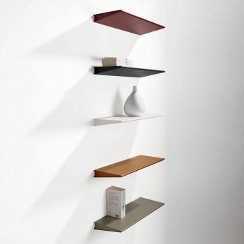Pezzani Mensola piccola da parete moderna in acciaio Ala