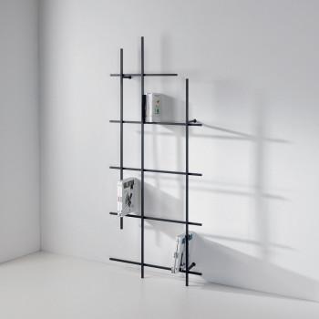 Pezzani Libreria da parete verticale piccola di design moderno Libra     0/72-3