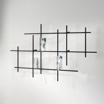 Pezzani Libreria da parete orizzontale di design moderno Libra     0/72-5