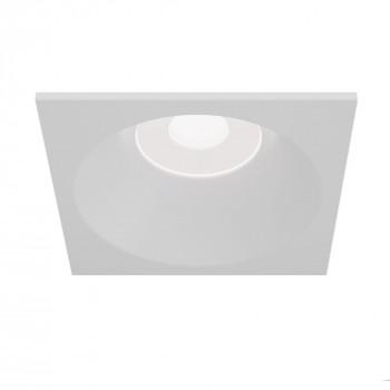 Maytoni Faretto da incasso moderno quadrato con struttura in metallo verniciata Zoom     DL033-2-01