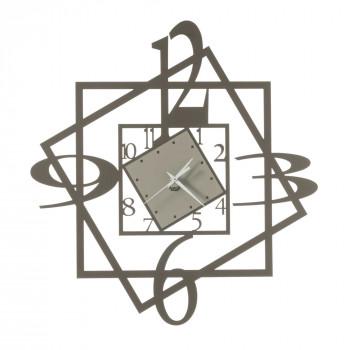Arti e Mestieri Orologio da parete moderno dal design geometrico in metallo Forum     3561