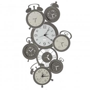 Arti e Mestieri Orologio da parete verticale particolare in metallo dal design contemporaneo Remember     3564